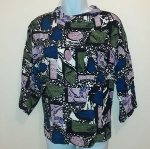 Nymph High Collar Blouse, Size 10